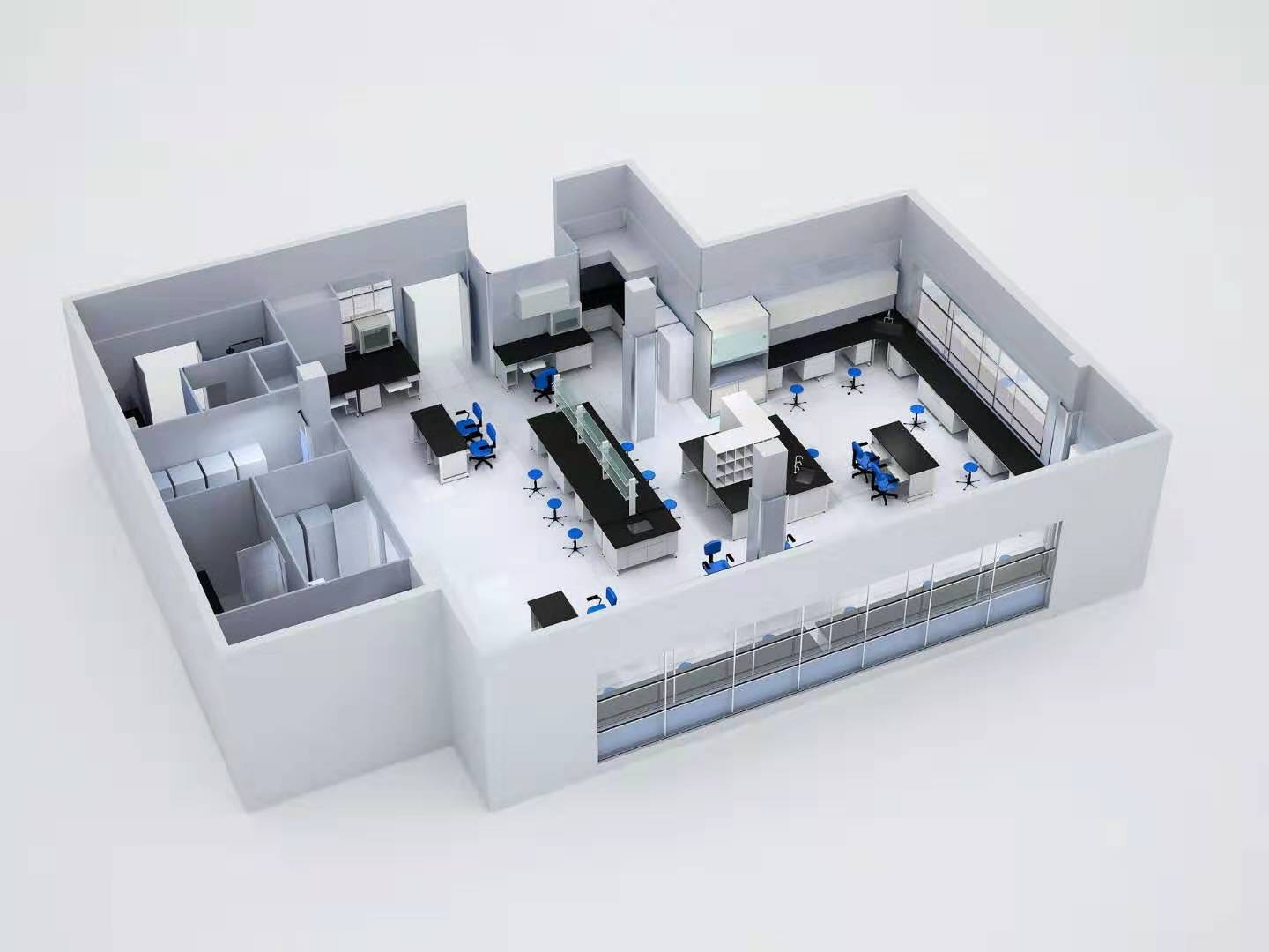 Design of Hospital Laboratory Department